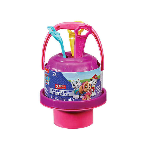 Paw Patrol No-Spill Bubblin Bucket - Skye