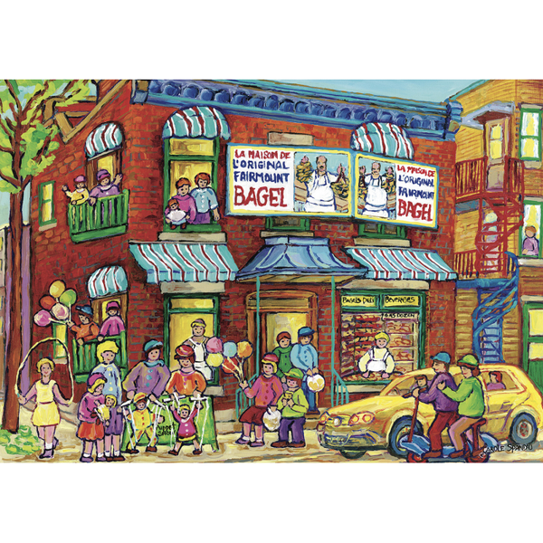 Fairmount Bagel (Summer Fun) Carole Spandau 1000 Puzzle