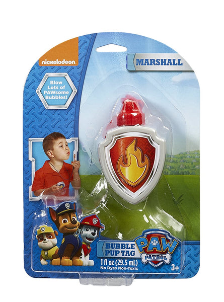 Paw Patrol Bubble Pup Tag