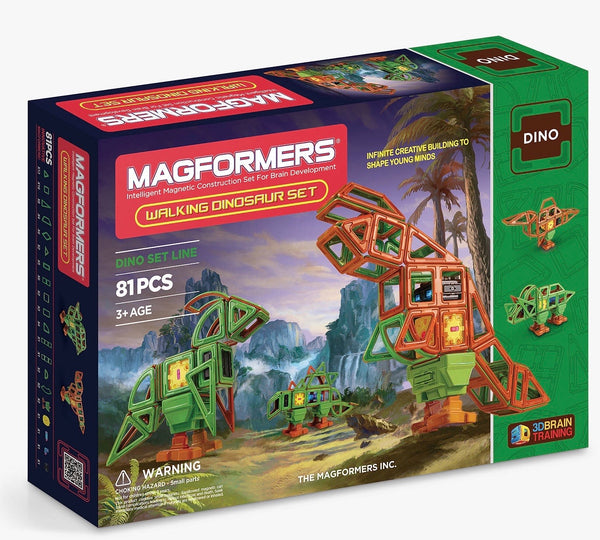 Magformers - Walking Dinosaur Set