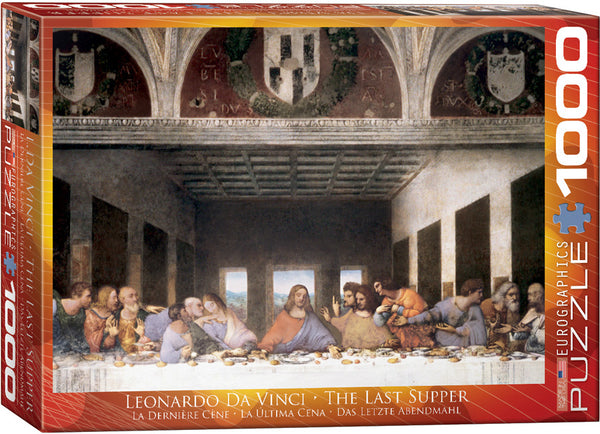 The Last Supper (Leonardo Da Vinci) 1000 Piece Puzzle