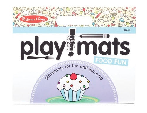 Playmats for Fun and Learning - Food Fun