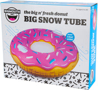 Big n' Fresh Donut Snow Tube