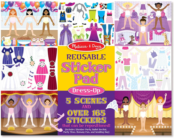 Reusable Sticker Pad - Dress Up