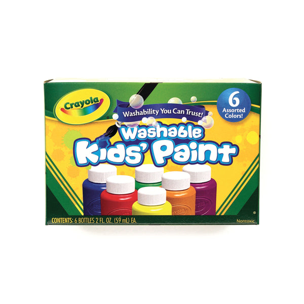 Washable Kids Paint, 6 ct