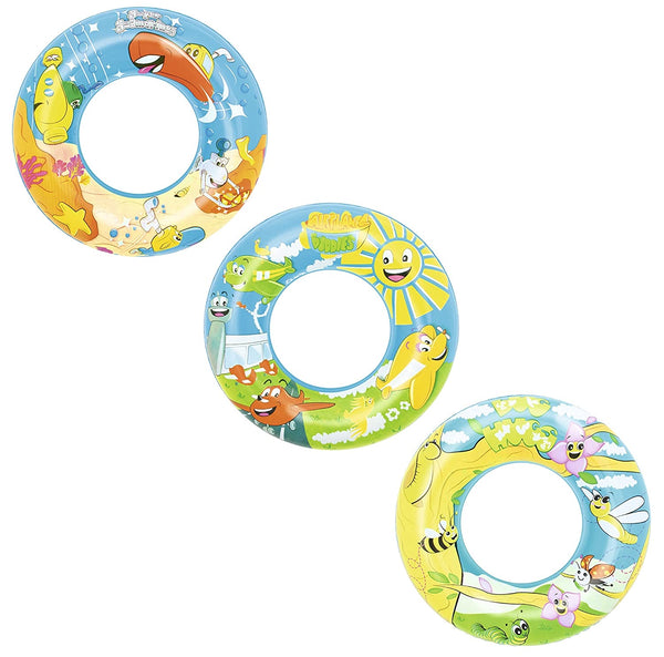 "24"" Inflatable Designer Swim Ring"