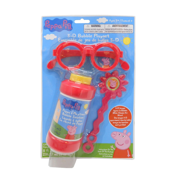 Peppa Pig 3D Bubble Playset