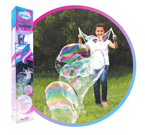 WOWMAZING Bubbles - Unicorn Edition