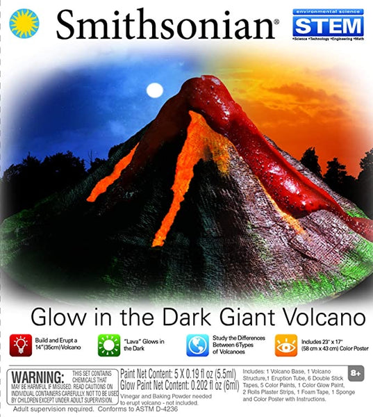 Glow In The Dark Giant Volcano - Smithsonian