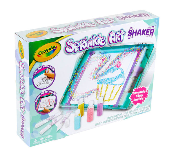 Sprinkle Art Shaker Art Set