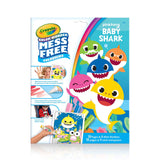Baby Shark Color Wonder Mess Free Coloring