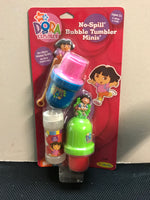 Dora & Diego No Spill Mini Bubble Tumbler 2 Pack
