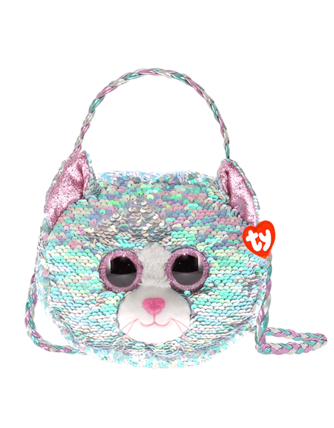 TY Sequin Purse - Whimsy (Cat)