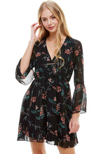 Load image into Gallery viewer, 52.00 Dream Long Sleeve Skater Dress Diva Ultd