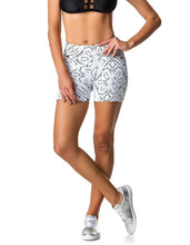 Load image into Gallery viewer, 29.99 Jacquard White shorts Diva Ultd