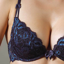 Load image into Gallery viewer, 24.26 Dare Me Deep Plunge Push-up Bra Diva Ultd