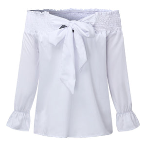 Magnolia Bow Knot Blouse