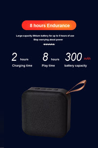 Bluetooth Portable Speaker - Free Shipping