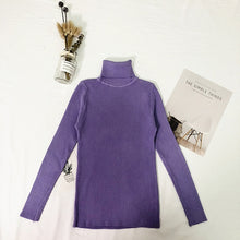 Load image into Gallery viewer, Womens Turtleneck Sweater - Free Shipping