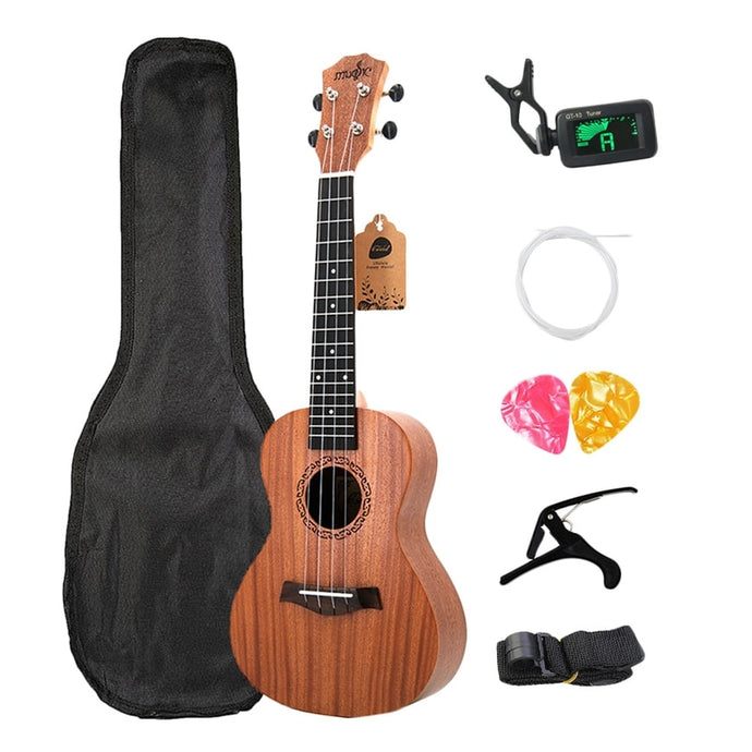 23 Inch Acoustic Ukulele with Accessories - Free Shipping