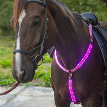 Load image into Gallery viewer, Rechargeable LED Horse Breast Collar - Free Shipping