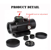 Load image into Gallery viewer, Tactical 1X40 MM Red/Green Dot Sight Scope - Free Shipping