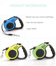 Load image into Gallery viewer, 3M/5M Retractable Dog Leash - Free shipping