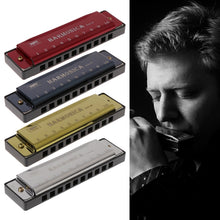 Load image into Gallery viewer, 10 Holes Key of C Blues Harmonica Musical Instrument - Free Shipping