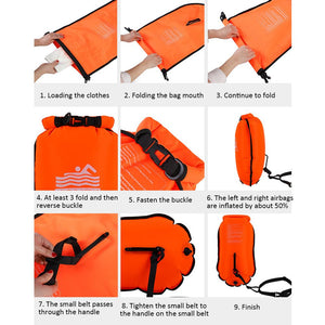 20L Inflatable Swim Bag - Free Shipping