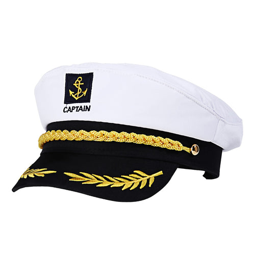 Captains Hat - Adjustable size - Free Shipping