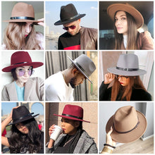 Load image into Gallery viewer, Fedora Hat 57cm - Free Shipping