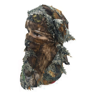 Camouflage Headgear/Mask - Free Shipping