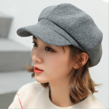 Load image into Gallery viewer, Women Wool Cotton Blend Berets - Free Shipping