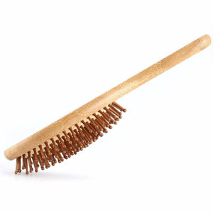 High Quality Bamboo Hair Brush - Free Shipping