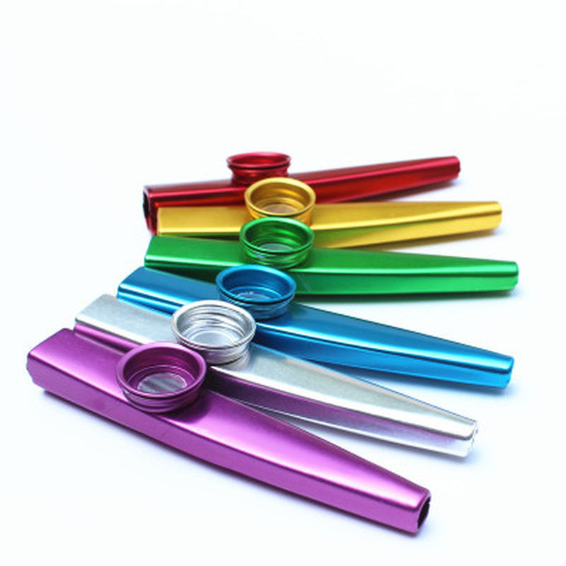 Metal Kazoo Lightweight Multiple Colors - Free Shipping