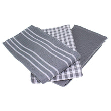 Load image into Gallery viewer, 3 pcs/set Kitchen Towels 100% Natural Cotton Tea Towels - Free Shipping