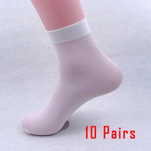 Load image into Gallery viewer, 10 Pairs black mens socks - Different Colors - Free Shipping