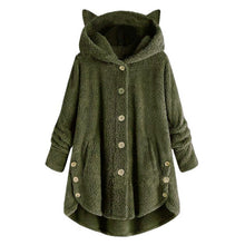 Load image into Gallery viewer, Womens Cat Ear Coat - Free Shipping