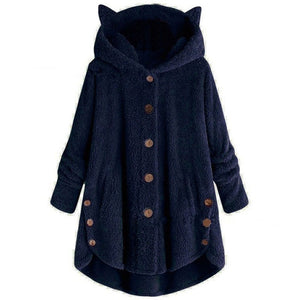 Womens Cat Ear Coat - Free Shipping