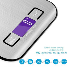 Load image into Gallery viewer, Stainless Steel Kitchen Scale - Free Shipping