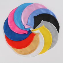 Load image into Gallery viewer, Soft Silicone Waterproof Swimming Caps - Free Shipping