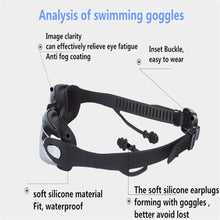 Load image into Gallery viewer, UV Protected Swim Goggles with Ear Plugs - Free Shipping