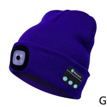 Load image into Gallery viewer, Bluetooth Toque with LED light - Free Shipping