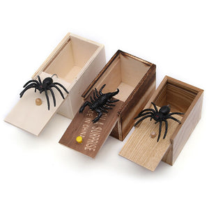Prank Scare Box with Fake Insects - Free Shipping