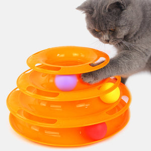 3 Level Ball Cat Toy - Free Shipping