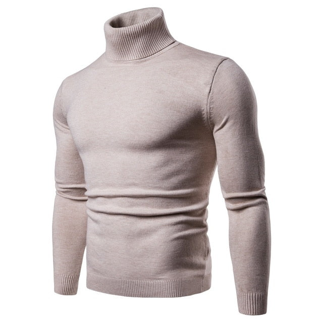 Mens Turtleneck Sweater - Free Shipping
