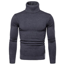 Load image into Gallery viewer, Mens Turtleneck Sweater - Free Shipping