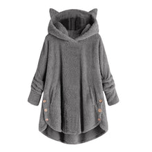 Load image into Gallery viewer, Womens Cat Ear Hoodies - Free Shipping