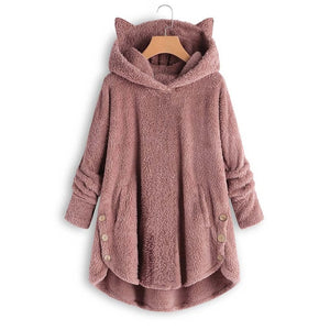Womens Cat Ear Hoodies - Free Shipping