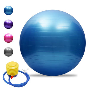 Exercise/Yoga Balls.  Various sizes and colors.  With Pump - Free Shipping